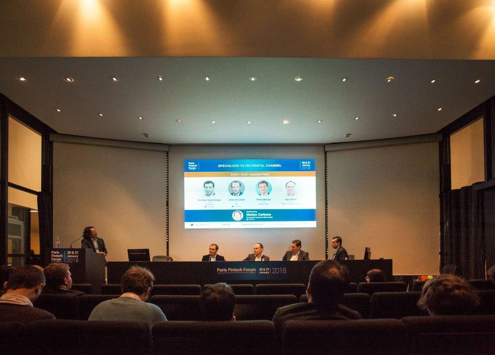 FinTech Insurance PremFina Banks Brokers Finance Paris Blockchain