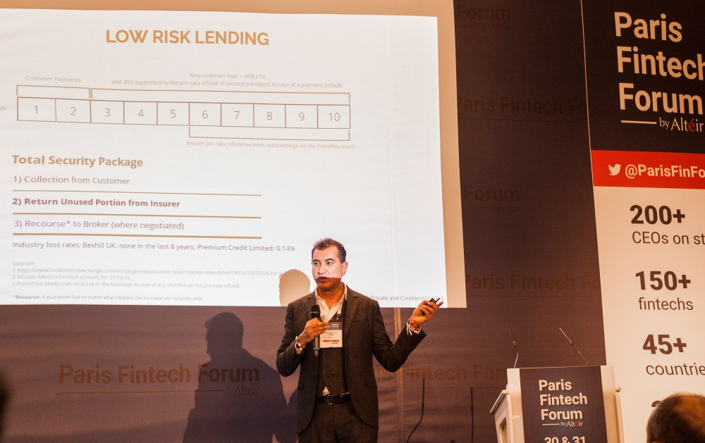 FinTech Insurance PremFina Banks Brokers Finance Paris Blockchain