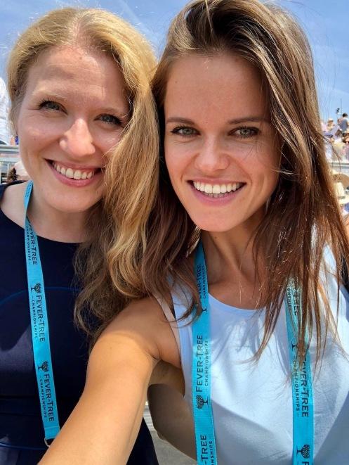 Mila Kostileva (Financial Analyst, PremFina); Aiste Zukauskaite (Executive Assistant, PremFina)